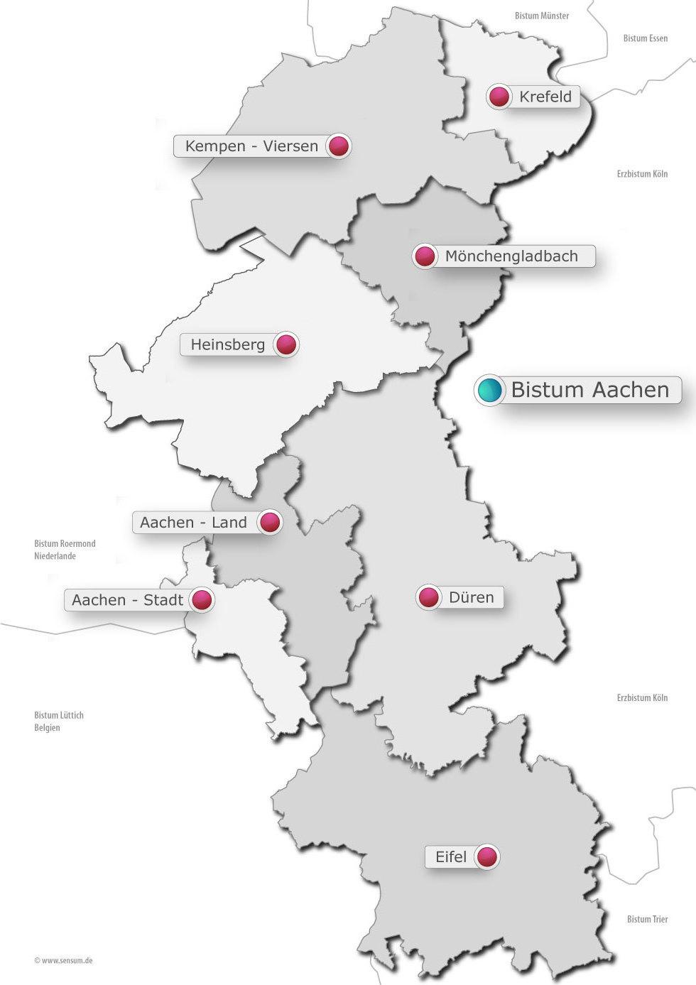 Uberblick Bistum Aachen