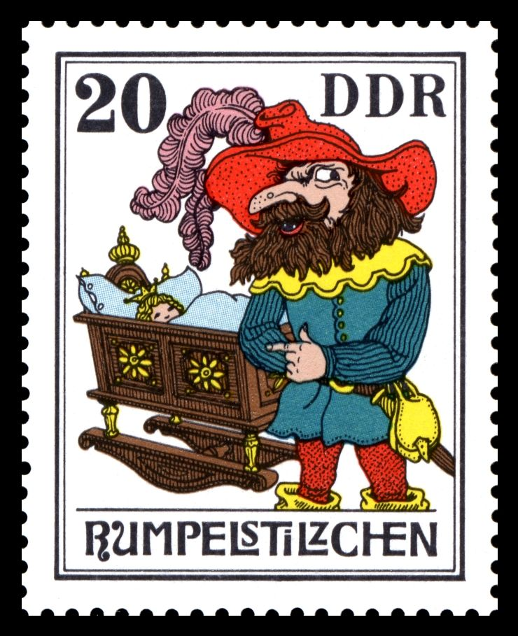 Rumpelstilzchen (c) Stamps_of_Germany_(DDR)_1976,_MiNr_2190_Wikimedia Commons
