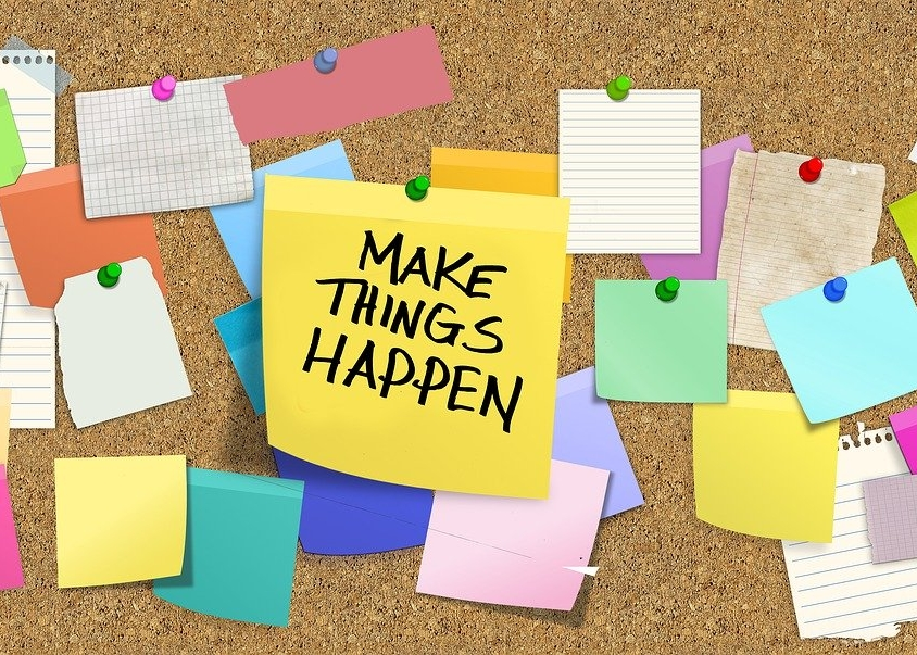 Make Things Happen (c) Pixaby