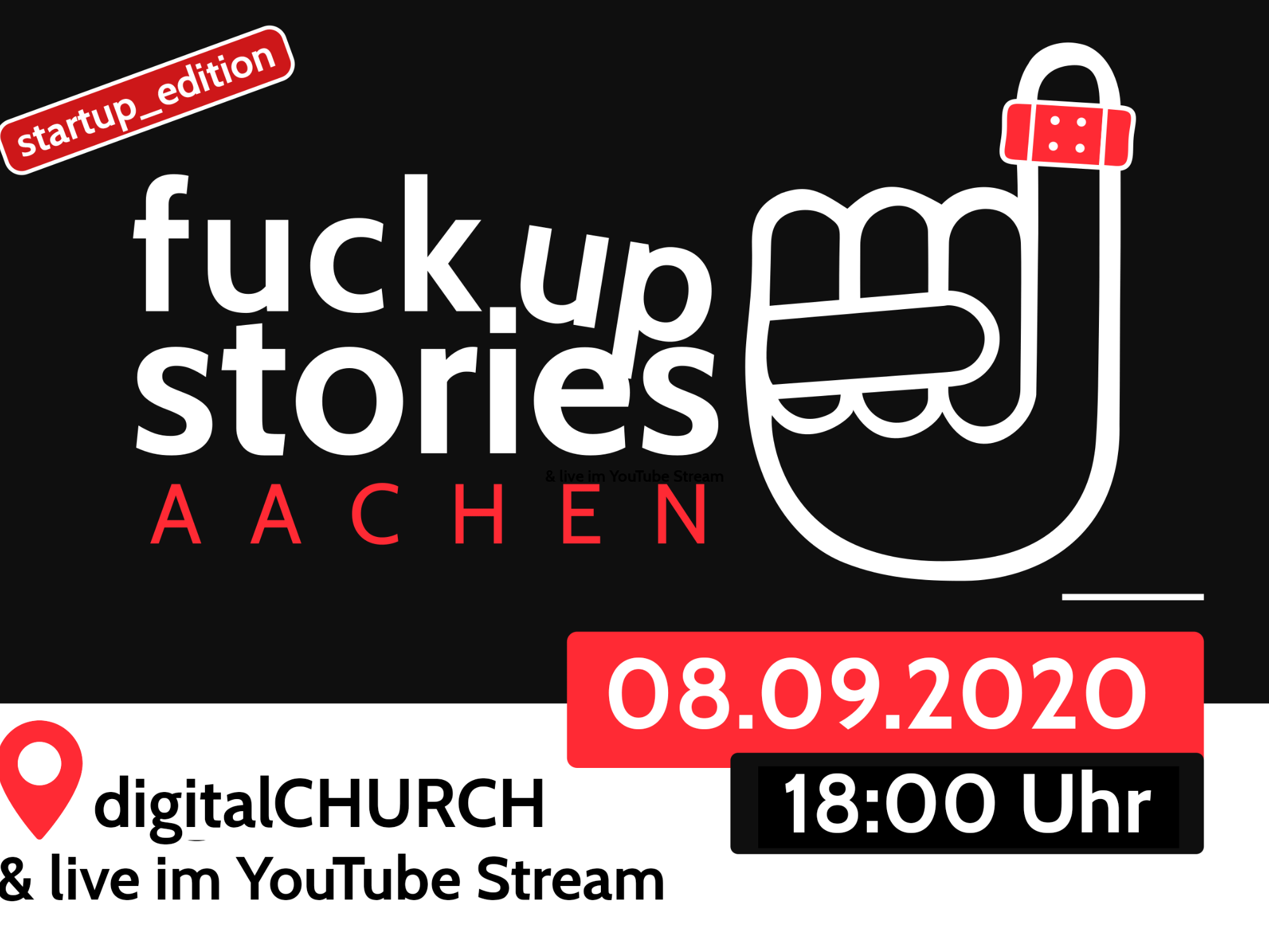 Fuck Up Stories, startup_edition (c) Team Fuck Up Stories Aachen