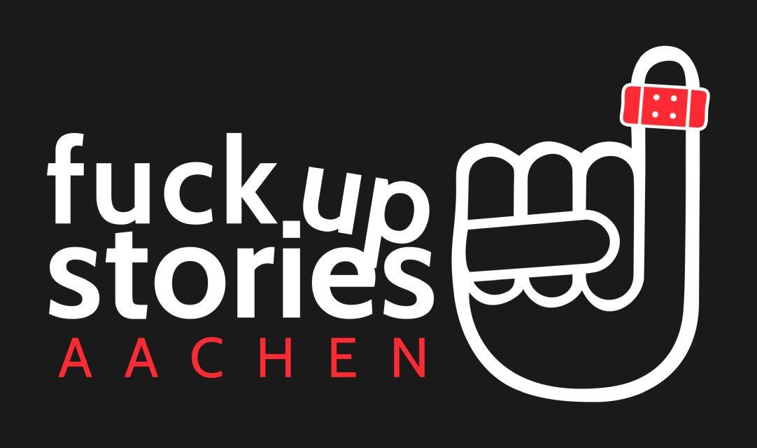 FUSaachen_Logo_auf_Grau (c) Fuck Up Stories