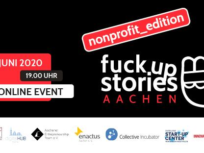 Fuck Up Stories Aachen - Non Profit Edition (c) Fuck Up Stories Aachen