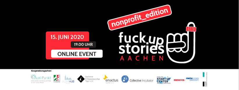 Logo Start up Edition (c) Fuck Up Stories Aachen