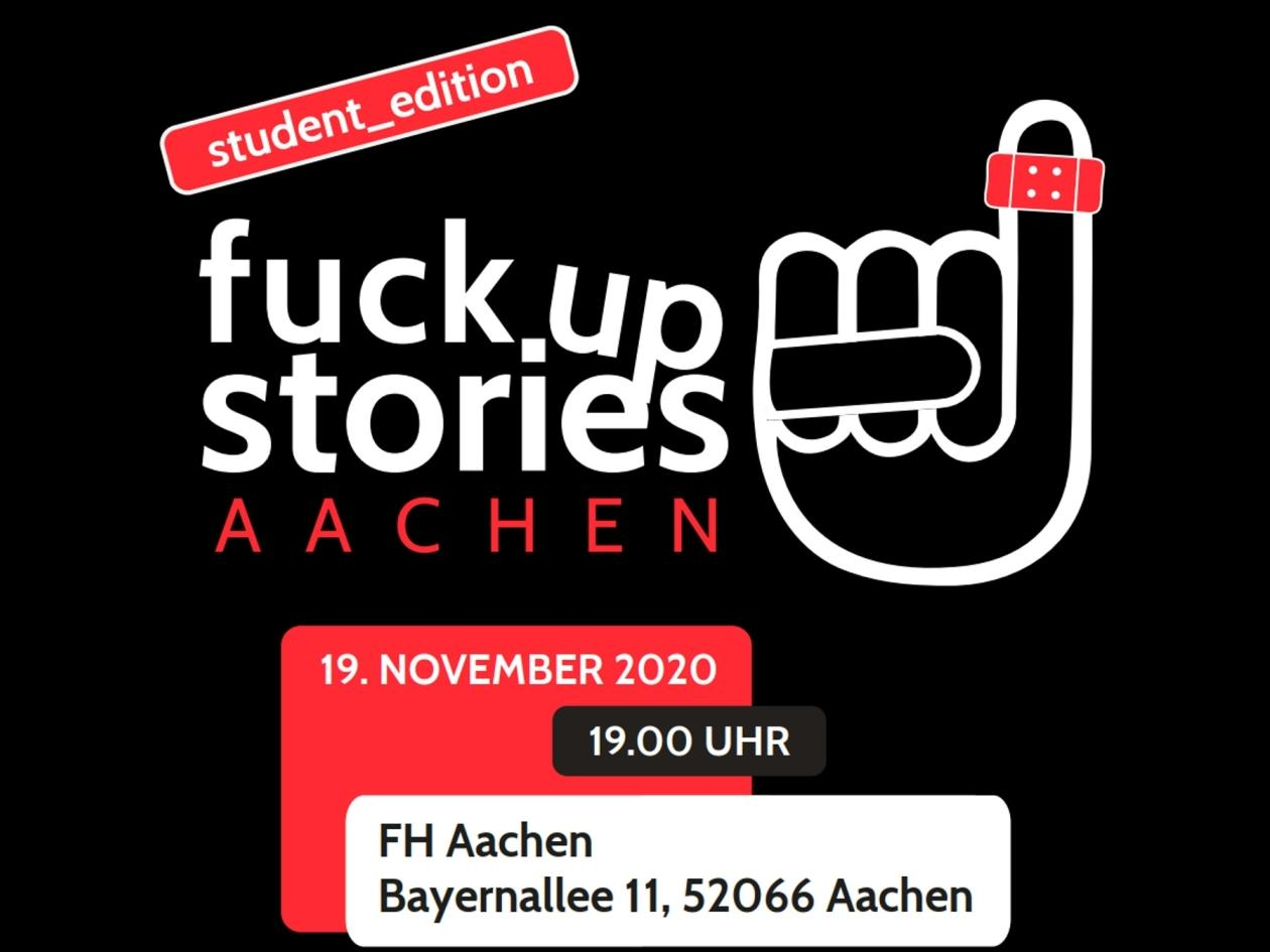 Fuck Up Stories, student_edition (c) Team Fuck Up Stories Aachen