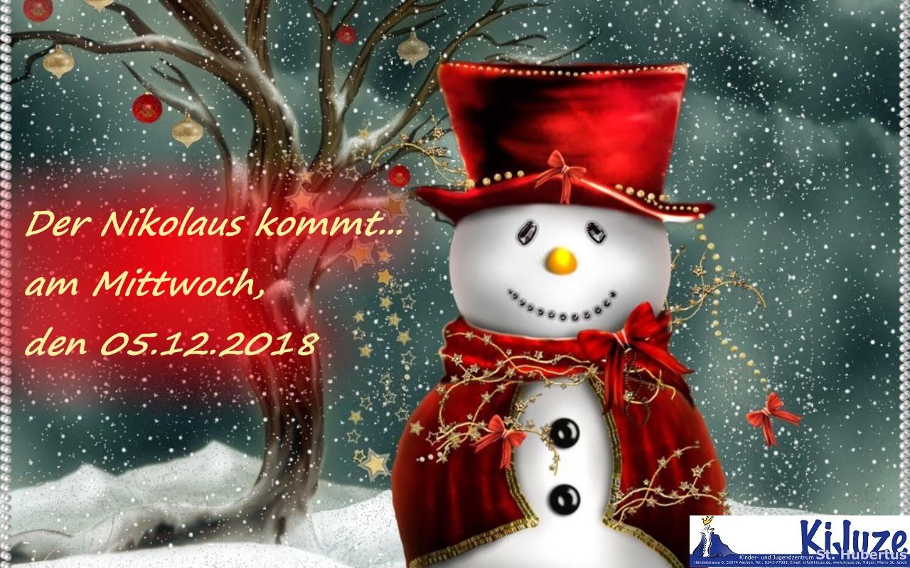 Der Nikolaus Kommt Bistum Aachen